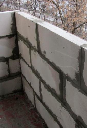 Укладка пеноблоков на балконе и лоджии: выгодные цены на усл.