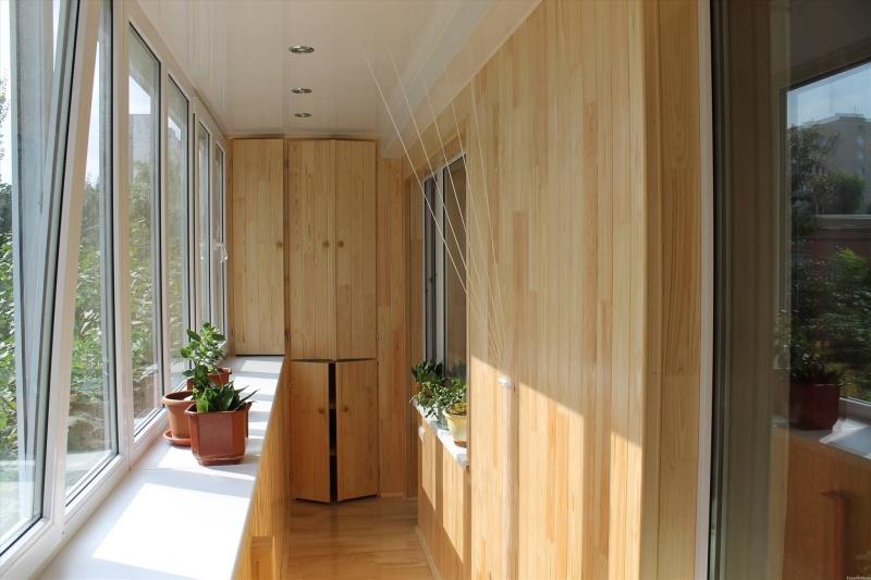 Внутренняя отделка балконов и лоджий под ключ в москве: выго.
